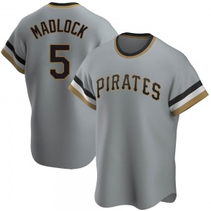 Bill Madlock Pittsburgh Pirates Replica Road Cooperstown Collection Jersey - Gray