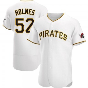 Clay Holmes Pittsburgh Pirates Authentic Home Jersey - White